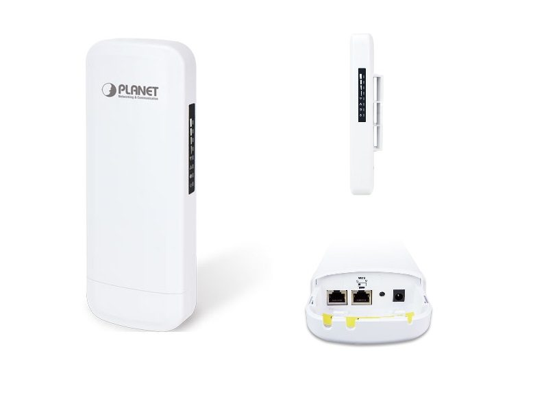 Outdoor Wifi AP Planet WBS-502N/WBS-202N, 2.4GHz & 5GHz, 300Mbps, PoE và WBS-512AC, 900Mbps, PoE